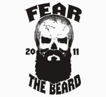Fear The Beard Skull Shirt by Fear The Beard by FearTheBeard