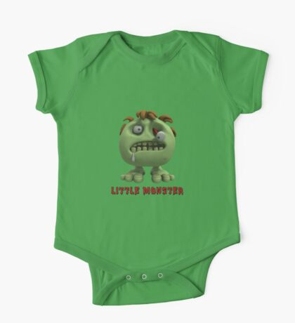 Little Monster - Zombie One Piece - Short Sleeve