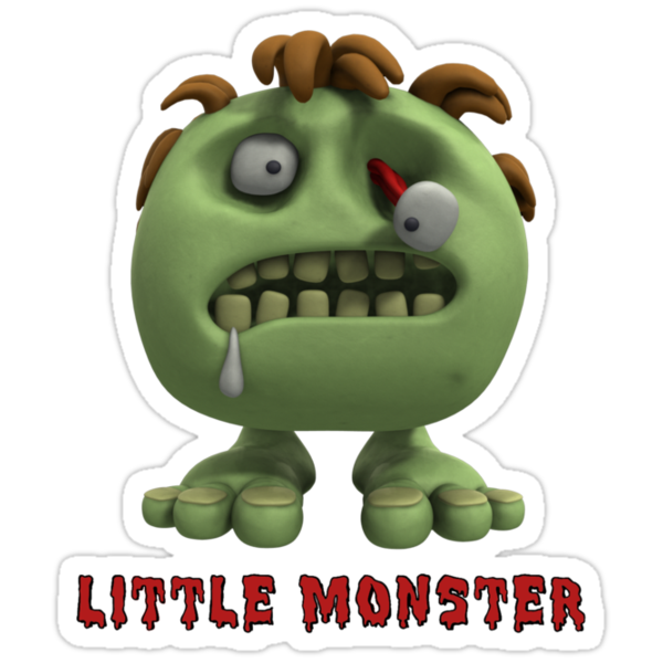 Little Monster - Zombie by bungeecow