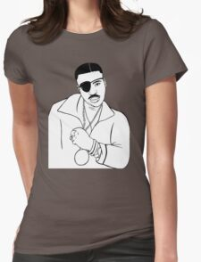 Slick Rick Womens Fitted T-Shirt