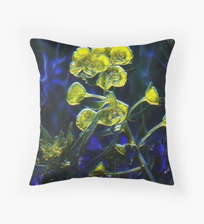 Blues in the Night Throw Pillow