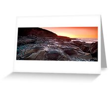 sunrise-crowdy head-nsw mid north coast Greeting Card