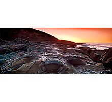 sunrise-crowdy head-nsw mid north coast Photographic Print
