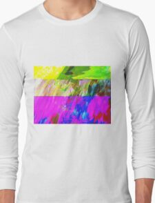 You've Got To Fight For Your Right To Abstract! Long Sleeve T-Shirt