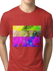 You've Got To Fight For Your Right To Abstract! Tri-blend T-Shirt