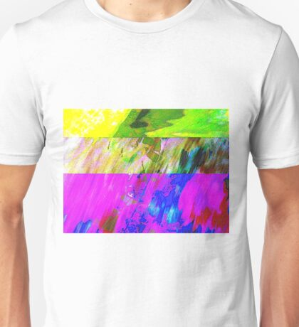 You've Got To Fight For Your Right To Abstract! Unisex T-Shirt