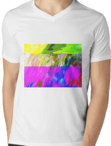 You've Got To Fight For Your Right To Abstract! Mens V-Neck T-Shirt