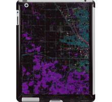 USGS Topo Map Oregon Eugene West 279830 1967 24000 Inverted iPad Case/Skin