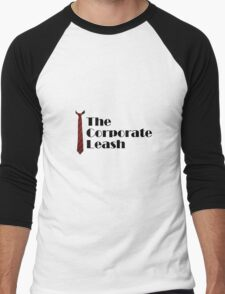 Corporate Leash Men's Baseball ¾ T-Shirt