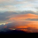 Sunset over the Galtees by Gregoria  Gregoriou Crowe