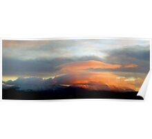 Sunset over the Galtees Poster