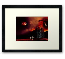 Eclipse on Piridian 3 Framed Print