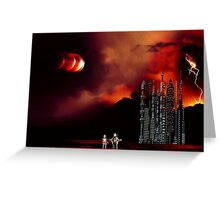 Eclipse on Piridian 3 Greeting Card