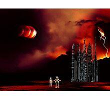 Eclipse on Piridian 3 Photographic Print