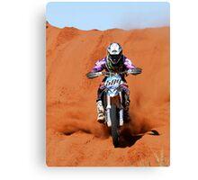Bike 589 - Finke 2011 Day 2 Canvas Print