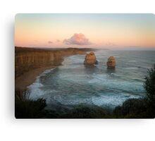 Twelve Apostles at dusk, Port Campbell National Park Canvas Print