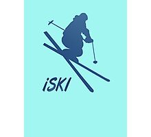 iSKI Photographic Print