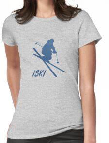 iSKI Womens Fitted T-Shirt
