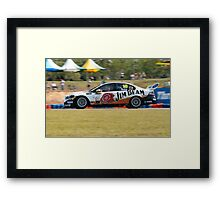 James Moffat Jim Beam Racing Framed Print
