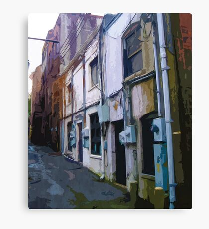 Historic Alley Canvas Print