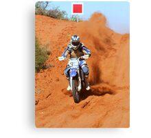 Bike 313 - Finke 2011 Day 2 Canvas Print