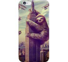 Slothzilla Iphone Case iPhone Case/Skin