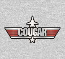 Top Gun Cougar (with Tomcat) One Piece - Long Sleeve