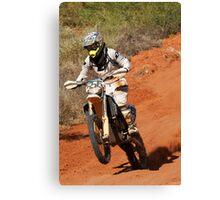 Bike 556 - Finke 2011 Day 2 Canvas Print