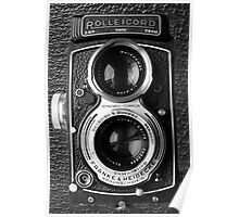 █ ♥ █ ROLLEICORD CAMERA PICTURE/CARD-PILLOW-TOTE BAG-JOURNAL-ECT. █ ♥ █  Poster