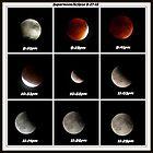 Supermoon & Eclipse - September 27, 2015 by FrankieCat