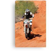 Bike X82 - Finke 2011 Day 2 Canvas Print