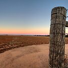 Fence Post by D-nature