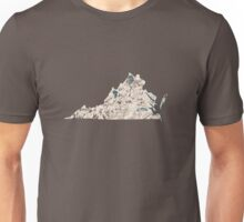 Virginia Vintage Picture Map Unisex T-Shirt