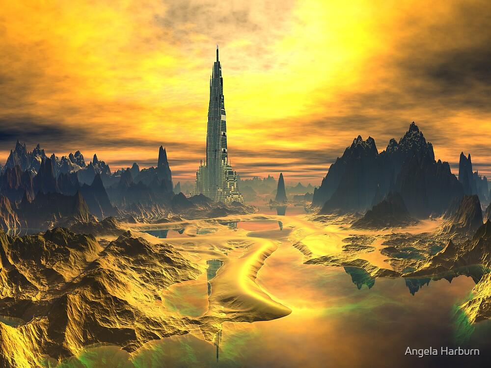 Odin's Hall - Valhalla - Planet Asgard by SpinningAngel