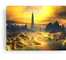 Odin's Hall - Valhalla - Planet Asgard Canvas Print