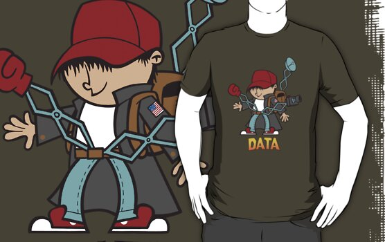 The goonies - Data cartoon by Faniseto