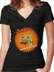 Zomdom Women's Fitted V-Neck T-Shirt