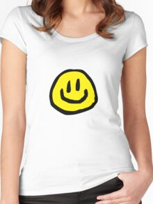 have a nice day! Women's Fitted Scoop T-Shirt
