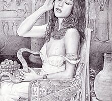 Death of Cleopatra by dashinvaine