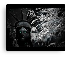the winter charge Canvas Print