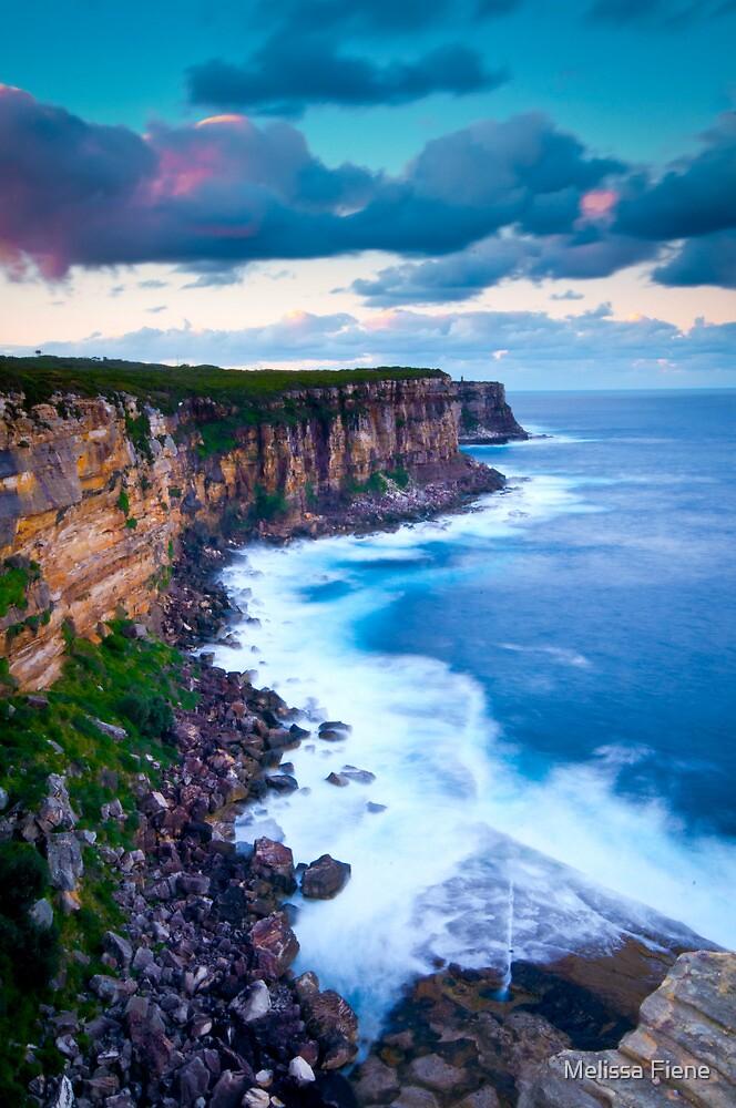 Cliffs at North Head by Melissa Fiene