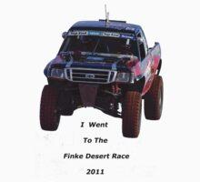 Finke Desert Race in black lettering by Centralian Images