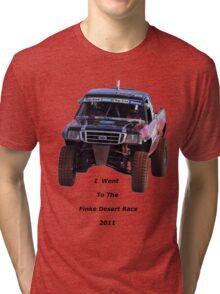 Finke Desert Race in black lettering Tri-blend T-Shirt