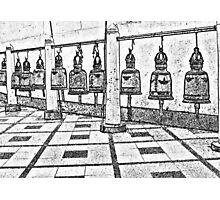 Bells in a Buddhist Temple Photographic Print