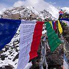 Prayer Flags @ Gokyo Ri by Denny0976