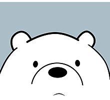We Bare Bears - Ice Bear Photographic Print