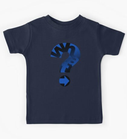 WHAT (BLUE) Kids Tee