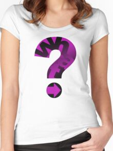 WHAT(PINK) Women's Fitted Scoop T-Shirt