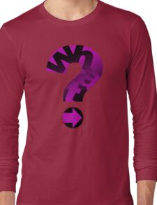 WHAT(PINK) Long Sleeve T-Shirt