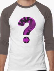 WHAT(PINK) Men's Baseball ¾ T-Shirt